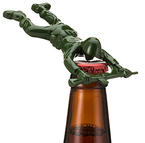 Green Army Man Bottle Opener Beerrevolt